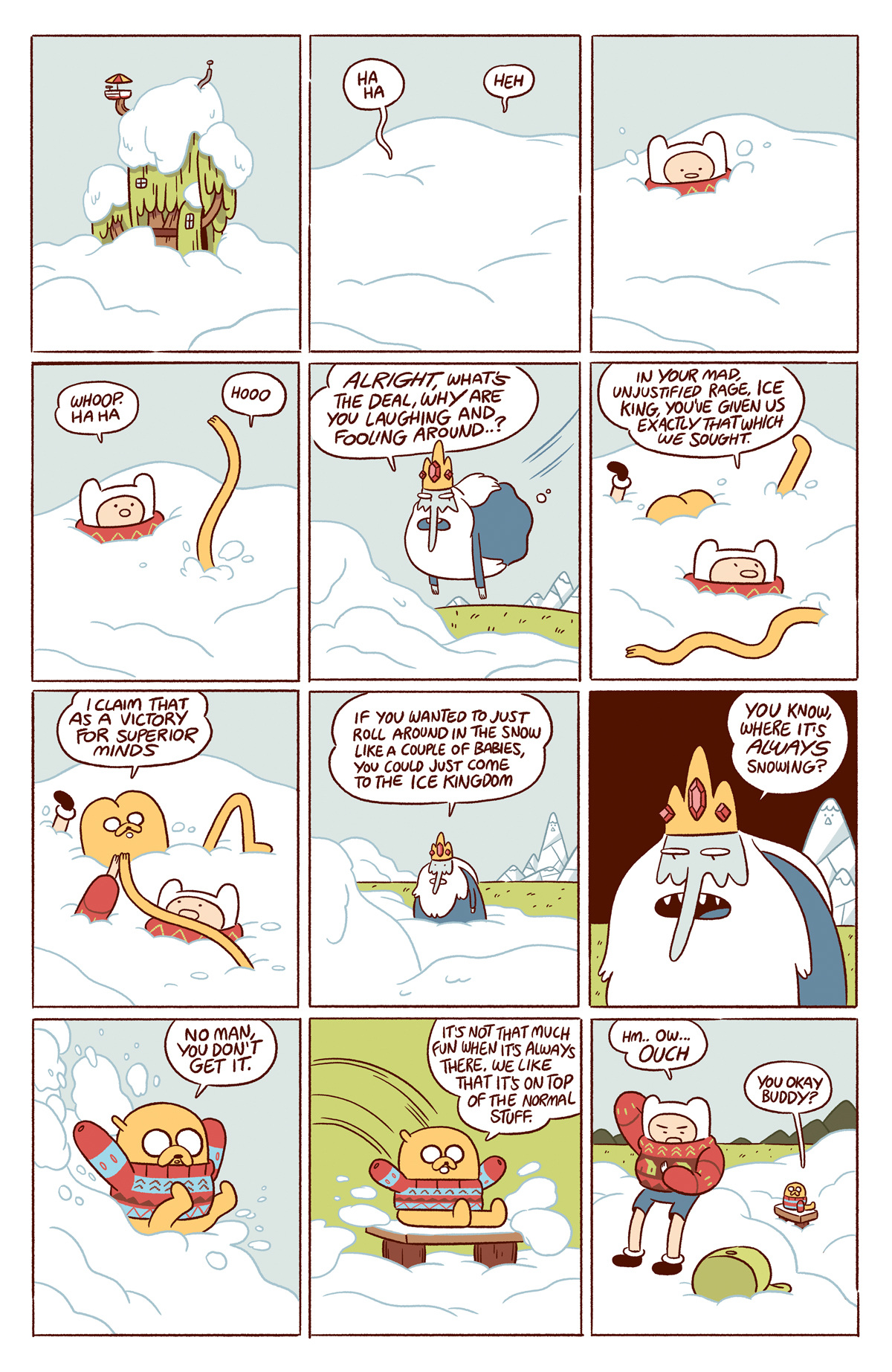 Adventure Time Luke Pearson Illustration And Comics