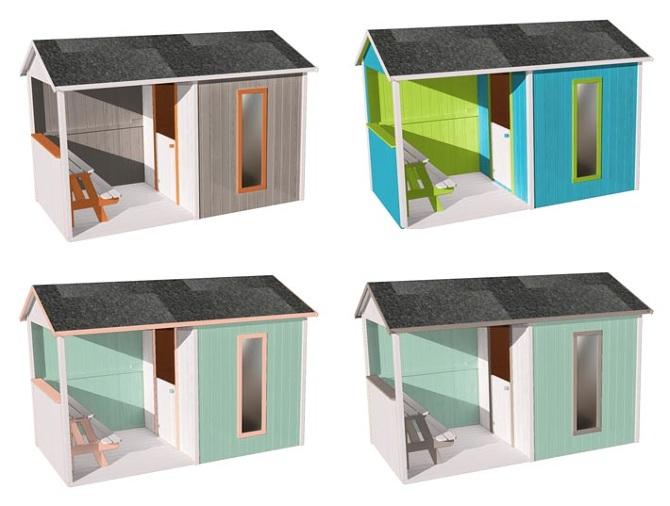 maisonnette cyrielle c line avrilla designer. Black Bedroom Furniture Sets. Home Design Ideas