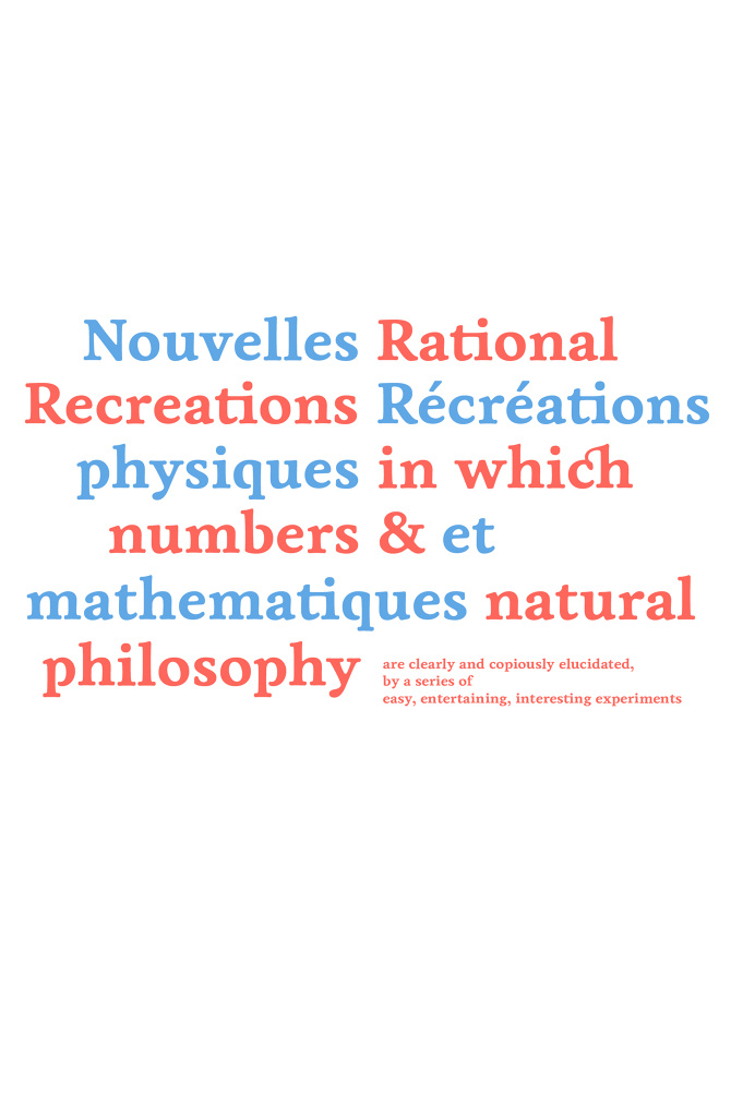 Recreations Science Natural Philosophy