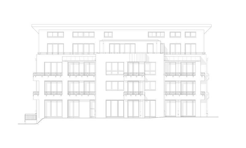 Mehrfamilienhaus jean calas weg mars architekten - Mars architekten ...